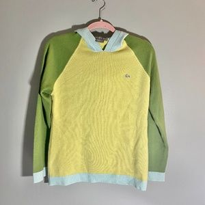 Vintage LACOSTE 100% Cashmere Color Block Sweater